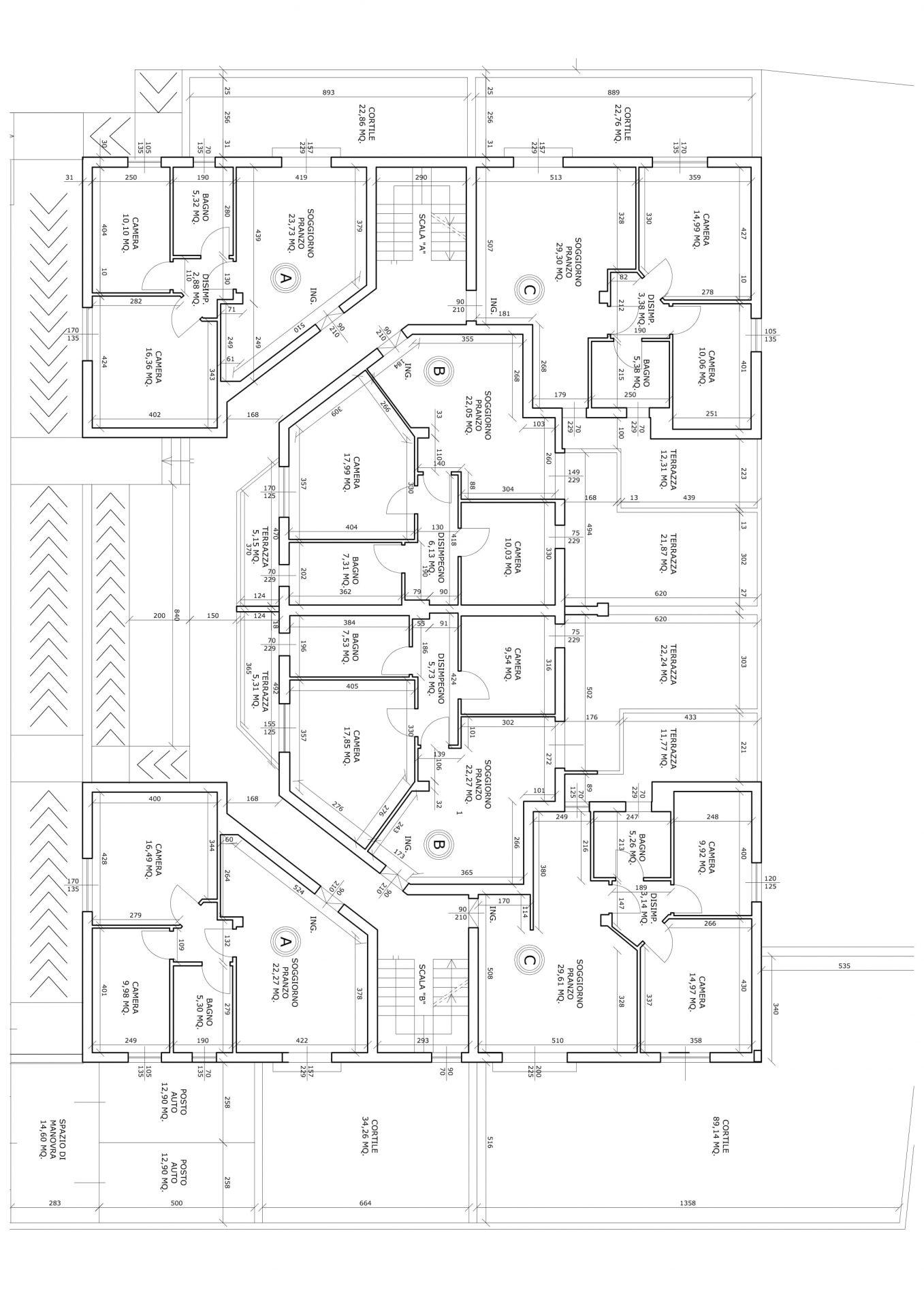 Pianta Piano Terra Appartamenti-1